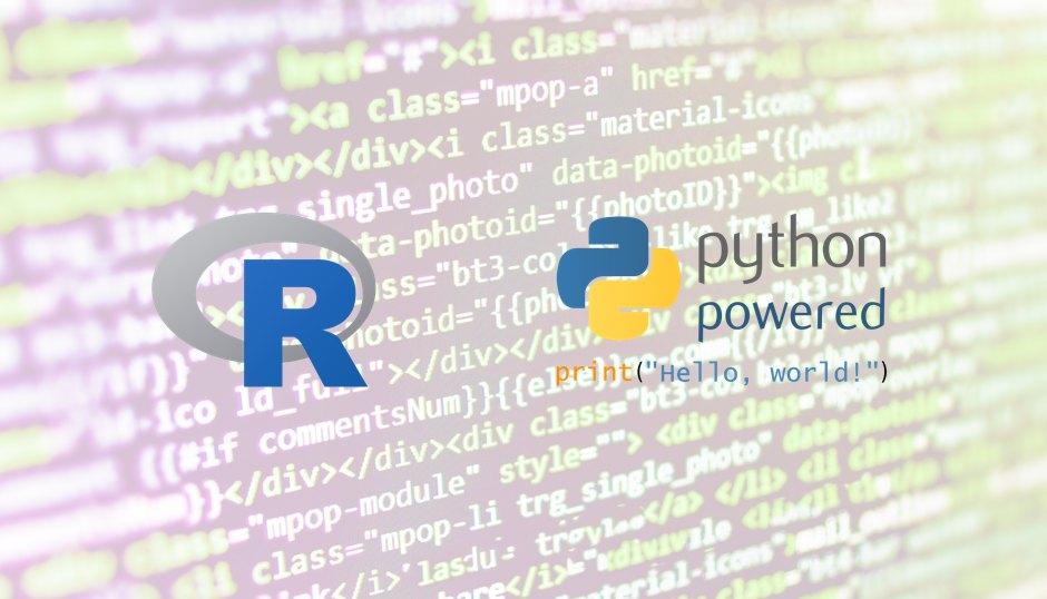 注目言語:「R」と「Python」の特徴と違いを簡単に解説!!