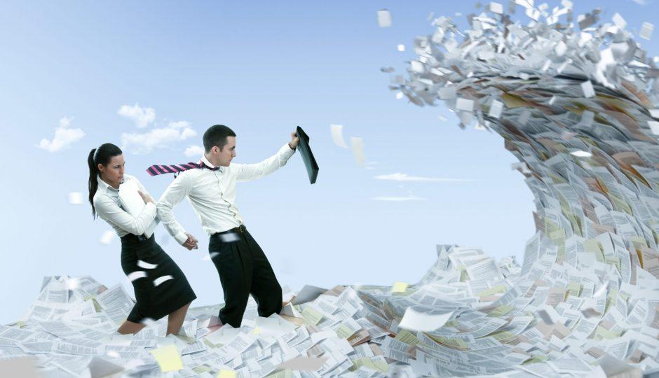 知ると会社内の断捨離も進む!文書のライフサイクルとは?