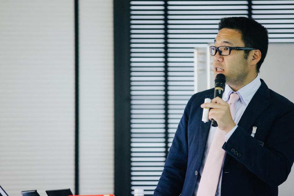 実行力を高めるための具体的なソリューションについて語った株式会社リンコム細野文孝氏