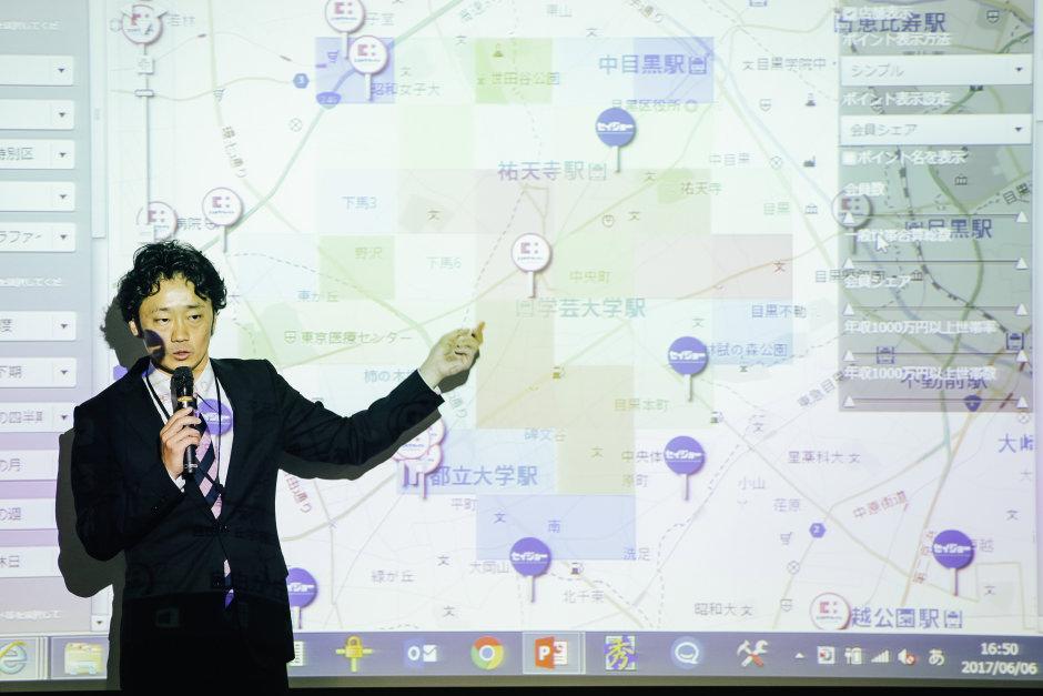 ウイングアーク1st株式会社中土井氏は、実行力とともに、「質」の必要性を説く