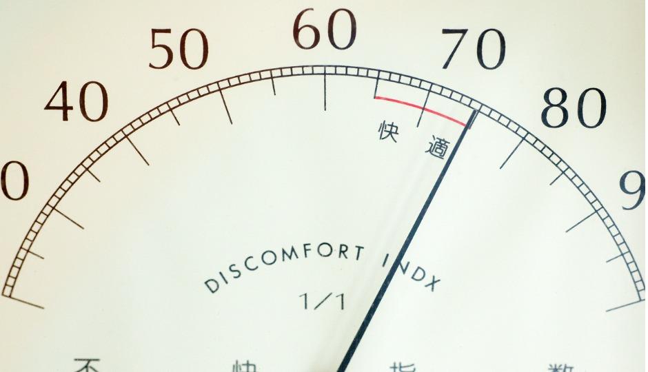 蒸し暑いのは堪え難いのは不快指数が高いから!でもそもそも不快指数とは一体?
