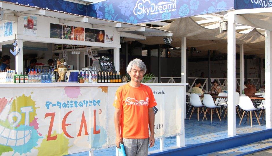 こんなところにIoT。超ハイテクな海の家「SkyDream Shonan Beach Lounge2018」を取材!