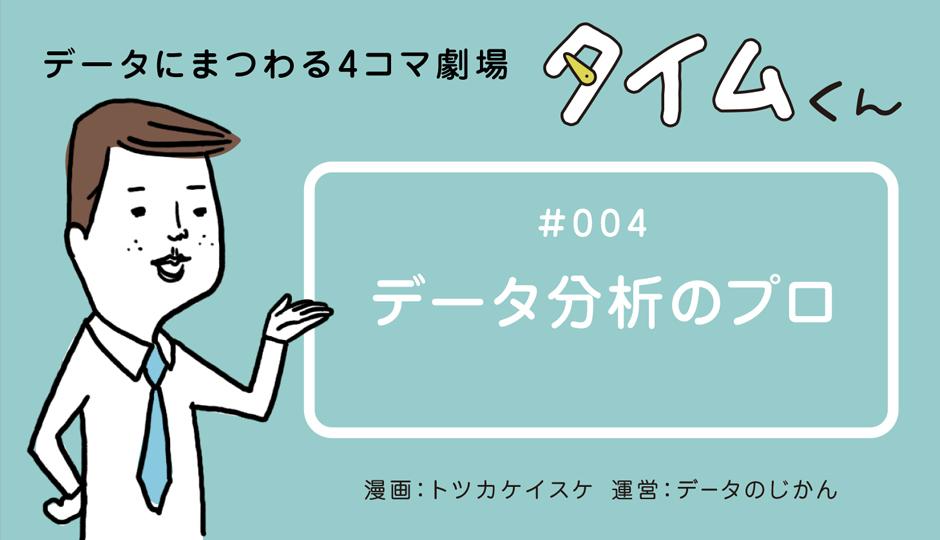 【タイムくん – 第4話:データ分析のプロ】
