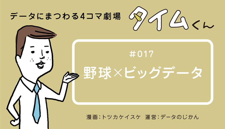 【タイムくん – 第17話:野球×ビッグデータ】