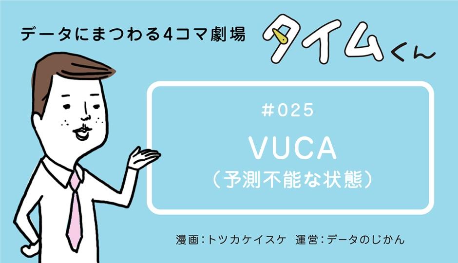 【タイムくん – 第25話:VUCA(予想不能な状態) 】