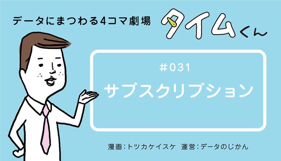 【タイムくん – 第31話:サブスクリプション】
