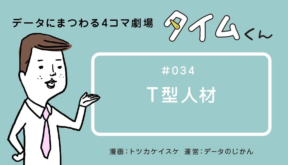 【タイムくん – 第34話:T型人材】