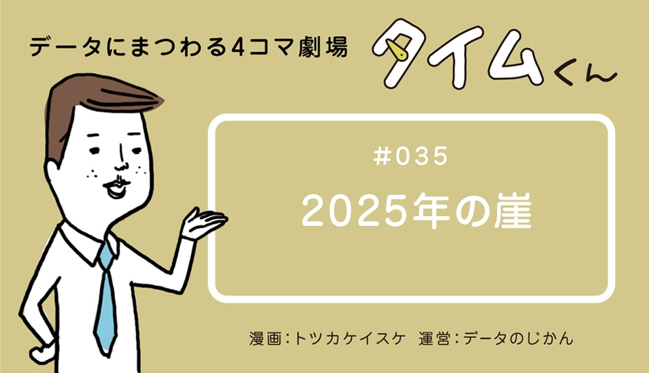 【タイムくん – 第35話:2025年の崖】