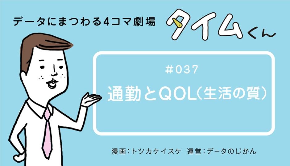 【タイムくん – 第37話:通勤とQOL(生活の質)】