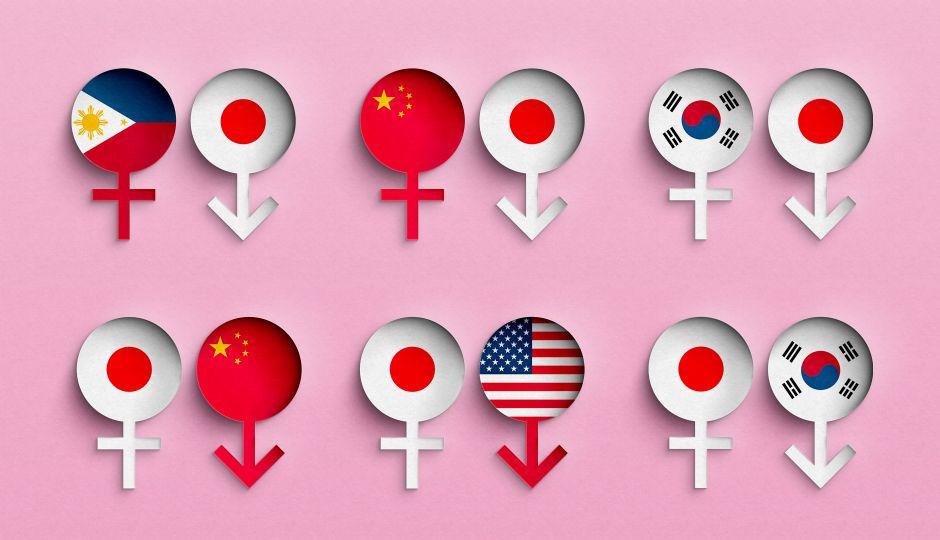 データで見る国際結婚の動向。日本初の国際結婚はいつ?そして国際結婚の闇に見え隠れする人権問題とは?