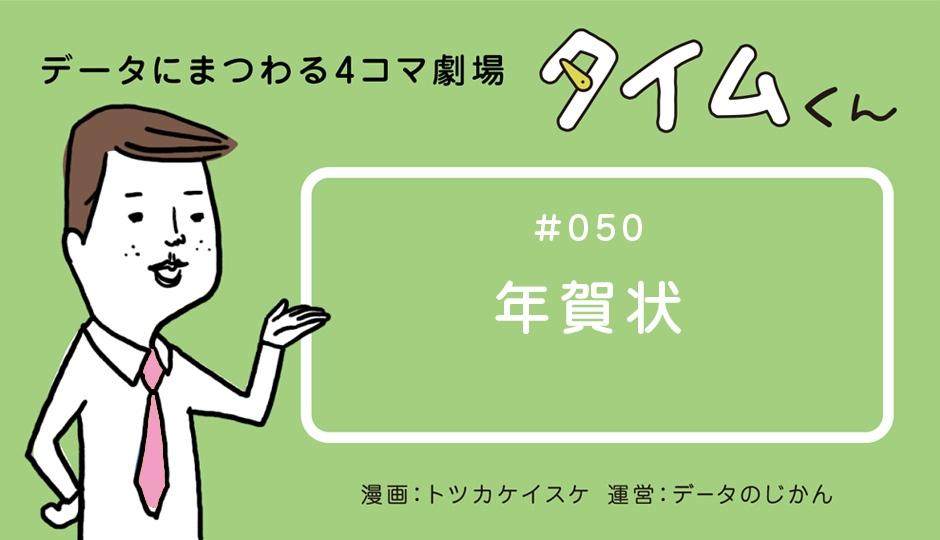 【タイムくん – 第50話:年賀状】