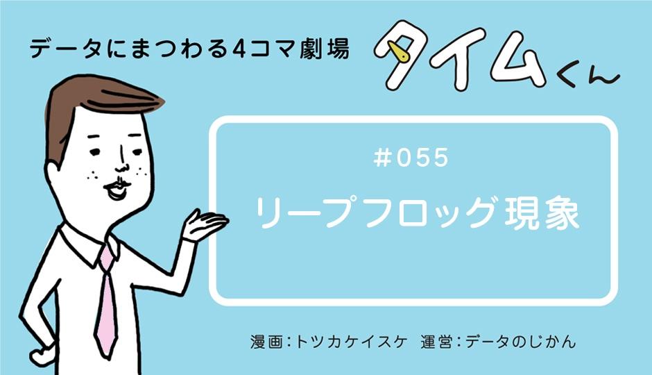 【タイムくん – 第55話:リープフロッグ現象】