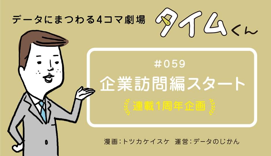 【タイムくん – 第59話:企業訪問編スタート】