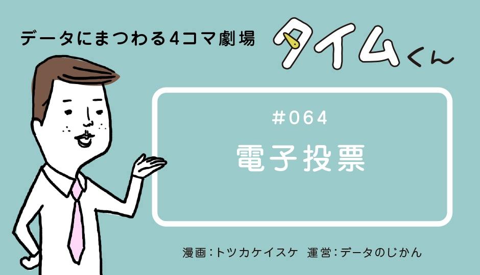 【タイムくん – 第64話:電子投票】