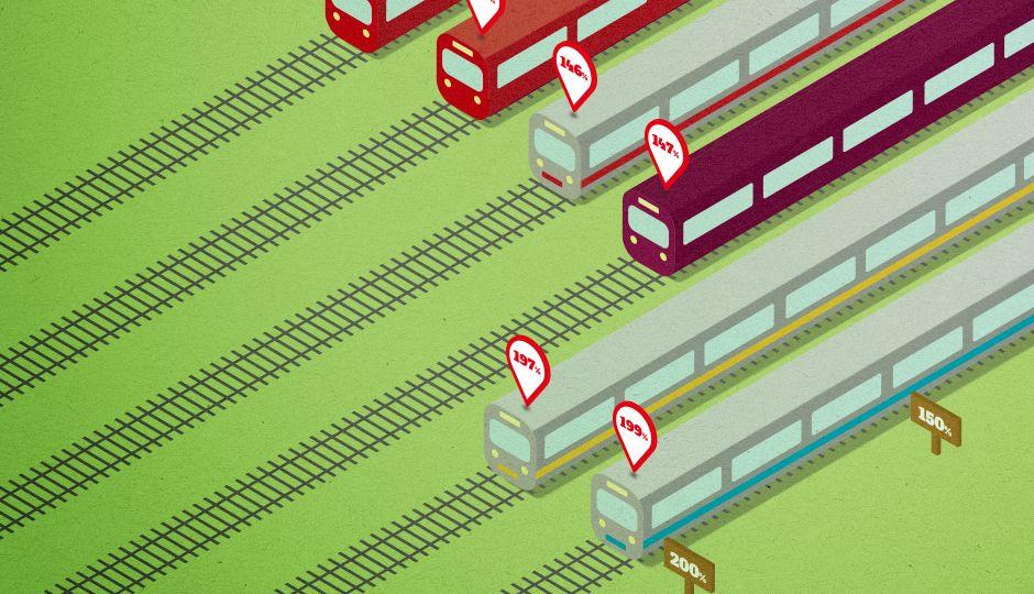 都市部の人々を悩ます満員電車をデータで見る!混雑率が高いのはどの電車?満員電車が生み出す経済的損失とは?
