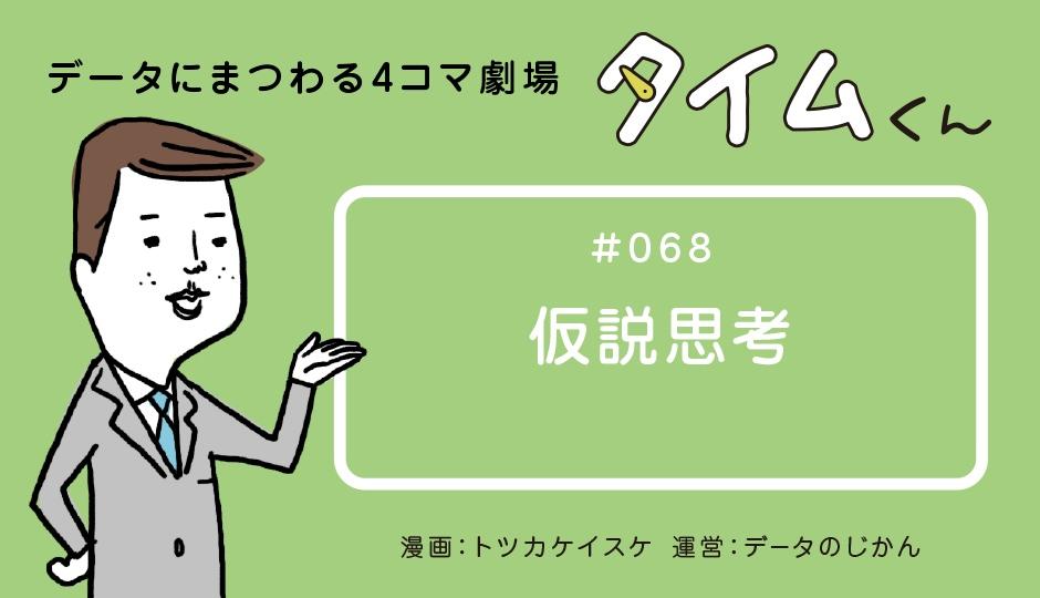 【タイムくん – 第68話:仮説思考】