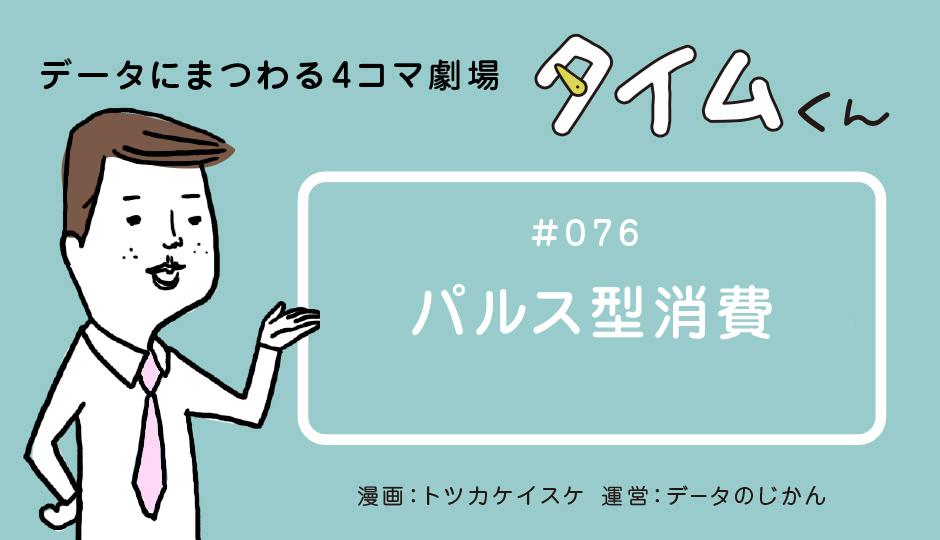 【タイムくん – 第76話:パルス型消費】