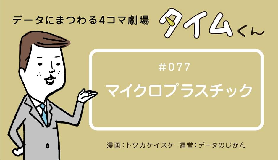 【タイムくん – 第77話:マイクロプラスチック】