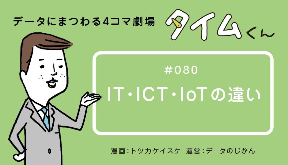 【タイムくん – 第80話:IT・ICT・IoTの違い】