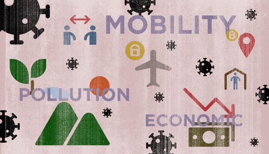 コロナ禍が経済・環境・人の移動のそれぞれに与えた影響を一度データで振り返る
