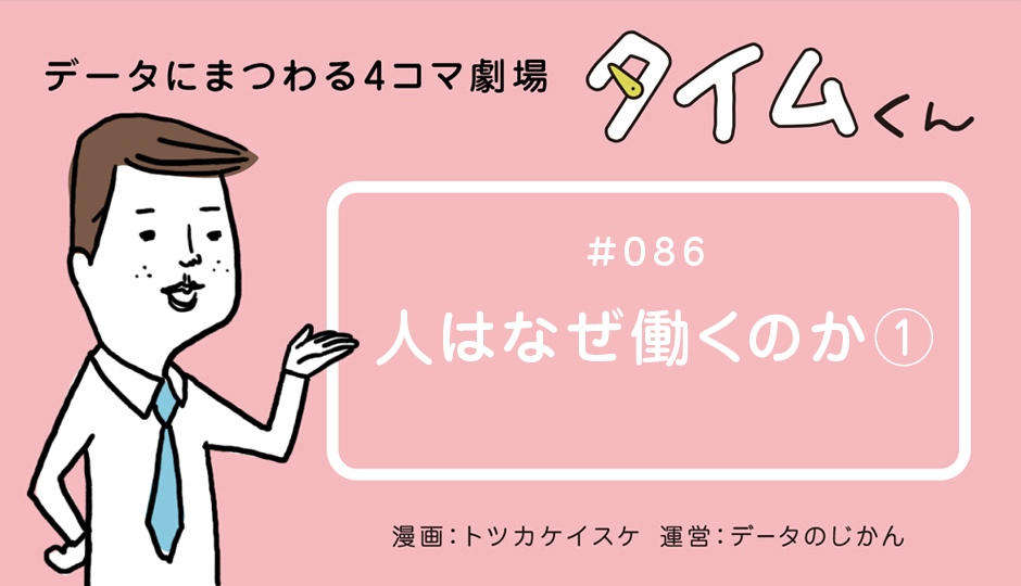 【タイムくん – 第86話:人はなぜ働くのか①】