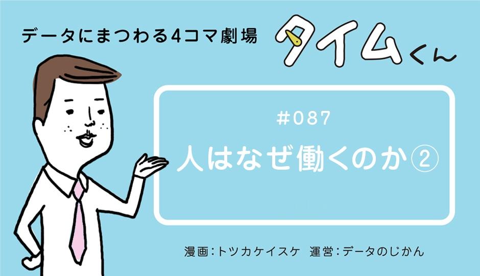 【タイムくん – 第87話:人はなぜ働くのか②】