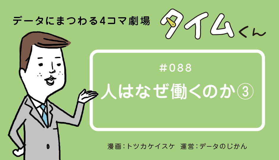 【タイムくん – 第88話:人はなぜ働くのか③】