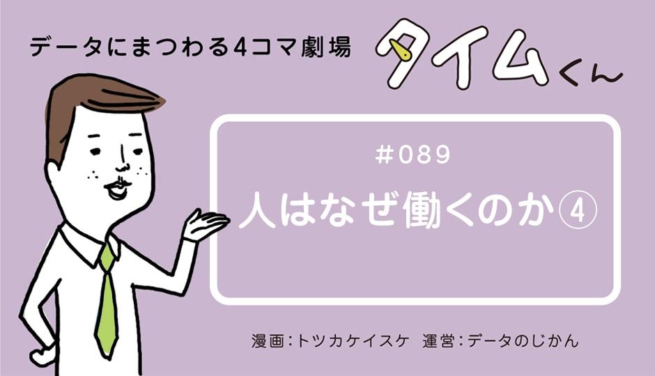 【タイムくん – 第89話:人はなぜ働くのか④】