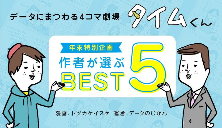 【タイムくん – 年末特別企画:トツカ先生が選んだ過去作品Best5】