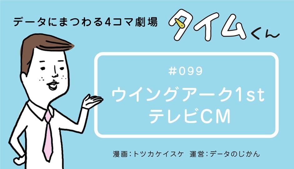 【タイムくん – 第99話:ウイングアーク1st テレビCM】