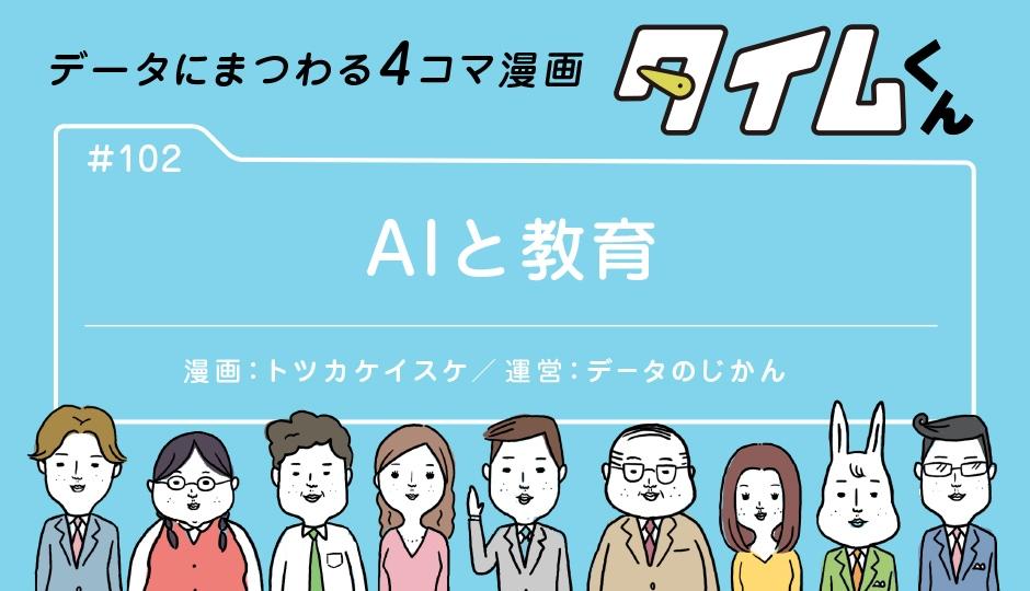 【タイムくん – 第102話:AIと教育】